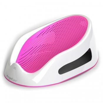 Лежачок-горка для купания детей Angelcare Bath Support розовый