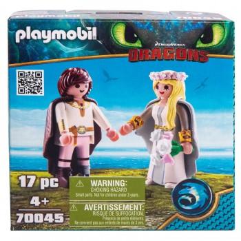 Playmobil 70045 Драконы Молодожены Иккинг и Астрид