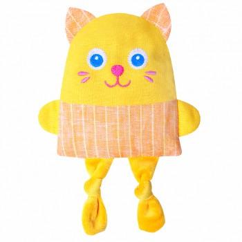 Игрушка грелка с вишневыми косточками Крошка Котёнок