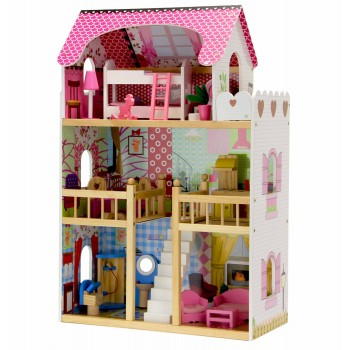 Кукольный домик Nadia Wooden Toys