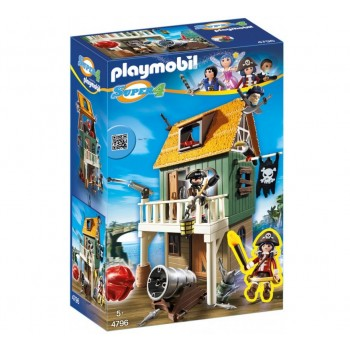 Playmobil 4796 Пиратская бухта Super 4