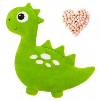 Игрушка грелка с вишневыми косточками Динозавр
