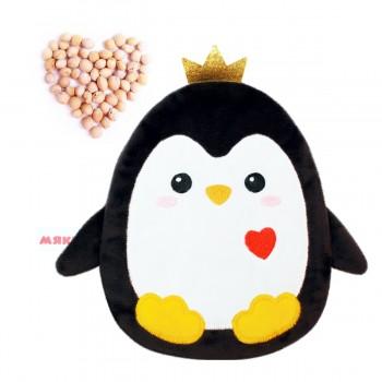 Игрушка грелка с вишневыми косточками Пингвинёнок