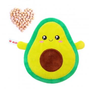 Игрушка грелка с вишневыми косточками Авокадо