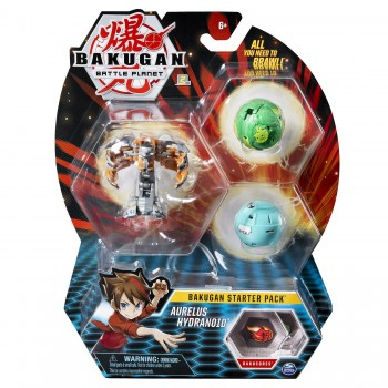 Набор из 3 шаров-трансформеров Бакуган Aurelus Hydranoid 20114999