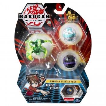 Набор из 3 шаров-трансформеров Бакуган Ventus Vicerox 20114996