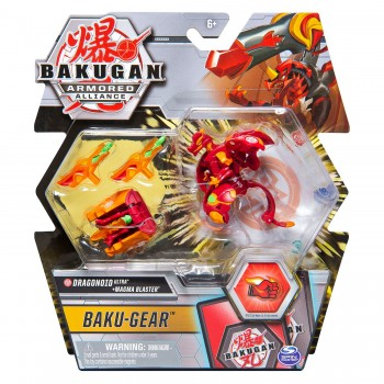 Шар-трансформер Bakugan Armored Alliance Baku-Gear Ultra Dragonoid 20122500