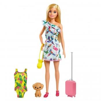 Набор Barbie День Рождения Челси Барби со щенком GTM87
