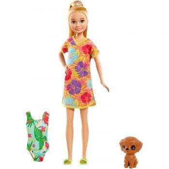 Набор Barbie Потерянный День рождения Стейси с питомцем GRT88