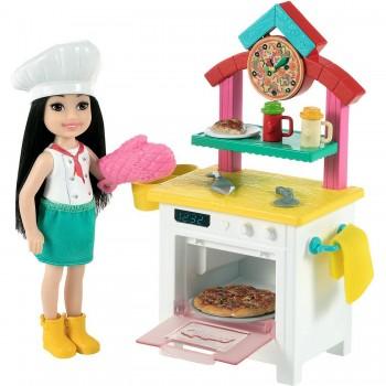 Набор Barbie Челси Пицца-шеф GTN63