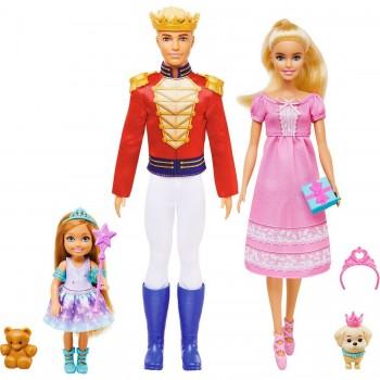 Набор Barbie, Кен и Челси Щелкунчик GXD61