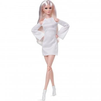 Кукла Barbie Looks Высокая платиновая блондинка GXB28