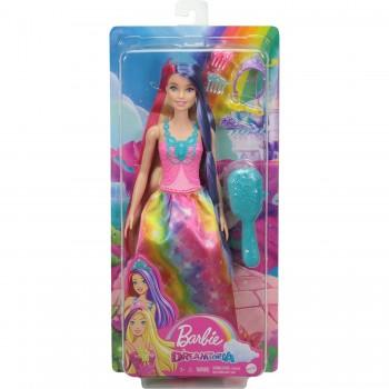 Кукла Barbie Принцесса с длинными волосами GTF38