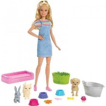 Кукла Барби Домашние питомцыFXH11