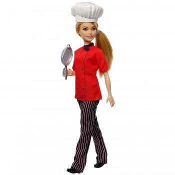 Кукла Barbie Профессии Шеф-повар FXN99