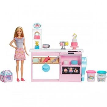 Игровой набор Barbie Кондитерский магазин GFP59