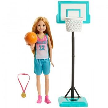 Игровой набор Barbie Стейси Баскетбол GHK35