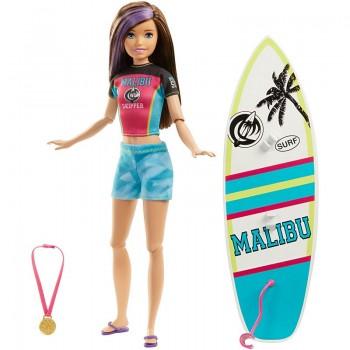 Игровой набор Barbie Скиппер Серфинг GHK36