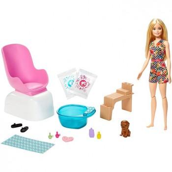 Набор Barbie Маникюрный салон GHN07