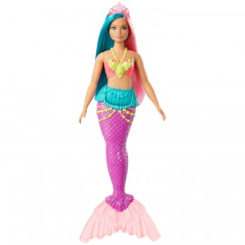 Кукла Barbie Русалочка Dreamtopia пышная GJK11