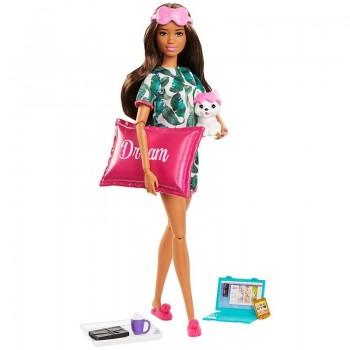Кукла Barbie с котенком Релакс Сон