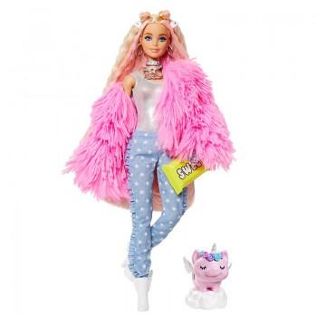 Кукла Барби Экстра в розовой куртке GRN28