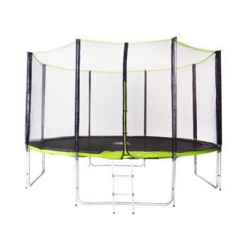 Батут Fitness Trampoline Green 14 FT Extreme