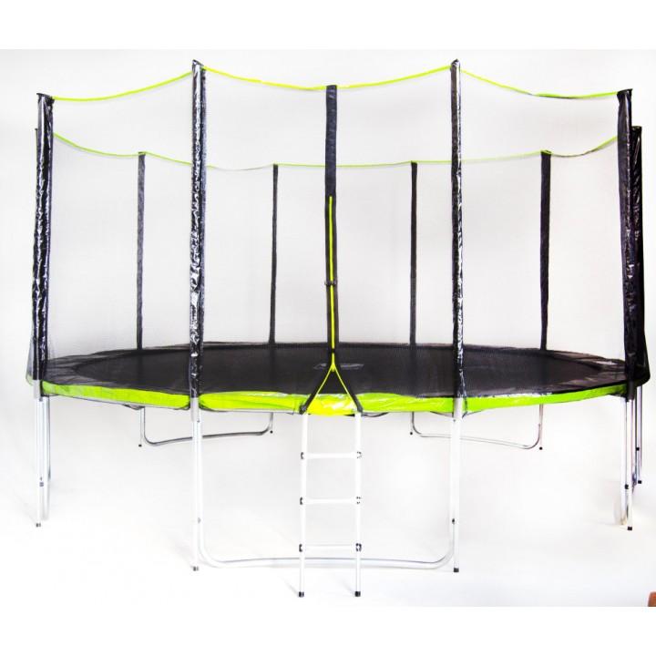 Батут Fitness Trampoline Green 15 FT Extreme