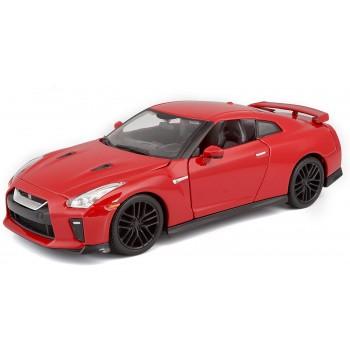 Коллекционная машинка Nissan GT-R 2017 Bburago 1:24