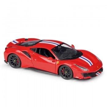 Коллекционная машинка Ferrari 488 Pista Bburago 1:24