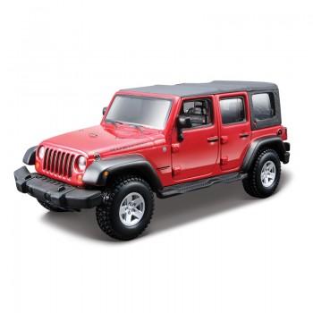 Сборная модель автомобиля Jeep Wrangler 1:32 Bburago 18-45121
