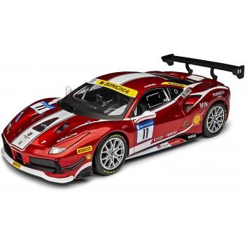 Модель автомобиля Ferrari 488 Challenge Formula Racing 1:24 Bburago 18-26308