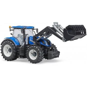 Игрушка Bruder Трактор New Holland с погрузчиком 03121