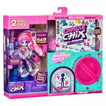 Набор из 2 кукол Capsule Chix МегаБлеск вариант 3