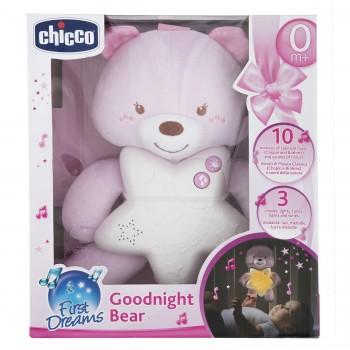 Подвеска-ночник Chicco Медвежонок Розовый