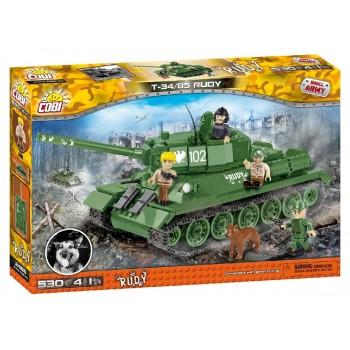 Конструктор Cobi Танк Т-34/85 RUDY 102
