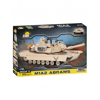 Конструктор Cobi 2619 Танк Абрамс M1A2