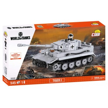 Конструктор Cobi 3000B World of Tanks Танк Тигр 1