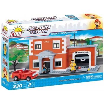 Конструктор Cobi Action Town Пожарное депо