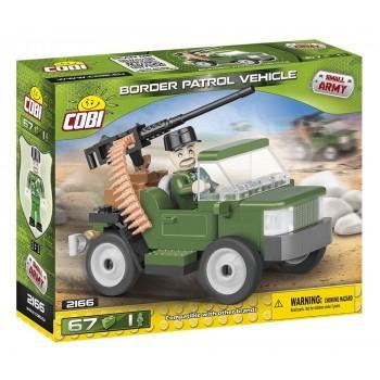 Конструктор Cobi Small Army 2166 Патрульная машина пограничников