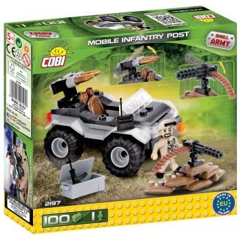 Конструктор Cobi Small Army 2197 Мобильный пехотный пост