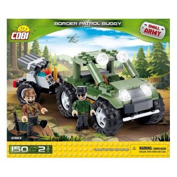 Конструктор Cobi Small Army 2363 Джип пограничного патруля