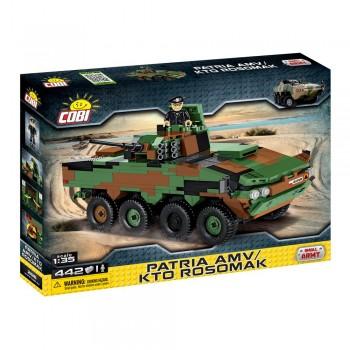 Конструктор Cobi Small Army 2616 бронеавтомобиль Patria AMV