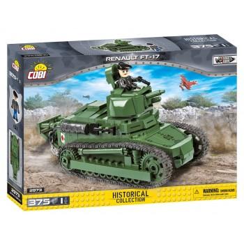 Конструктор Cobi танк RENAULT FT-17