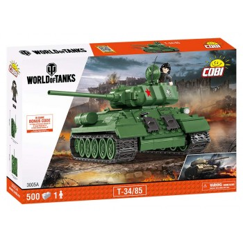 Конструктор Cobi World of Tanks Танк Т-34/85