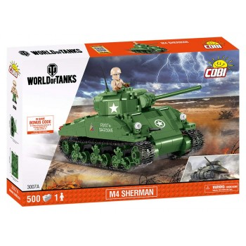Конструктор Cobi World of Tanks Танк M4 Шерман