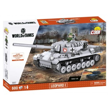 Конструктор Cobi World of Tanks Танк Leopard 1