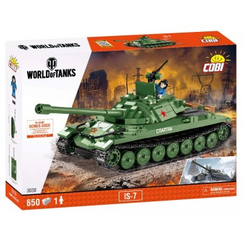 Конструктор Cobi World of Tanks Танк ИС-7