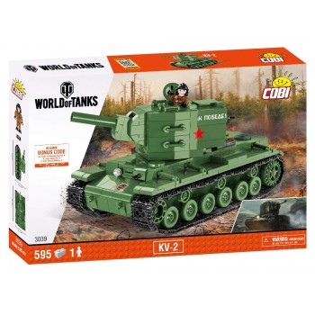Конструктор Cobi World of Tanks Танк КВ-2