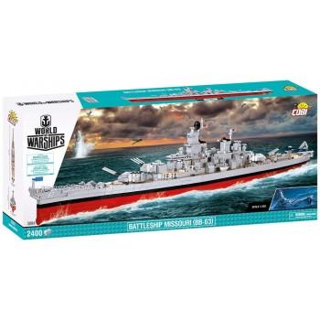 Конструктор Cobi Военный корабль Миссури